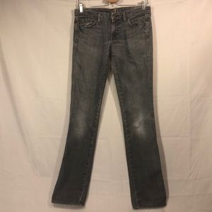 7 for all mankind straight leg jeans Sz 27